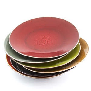 Jars Round Ceramic Plate - Large size (원형 접시 라지사이즈)