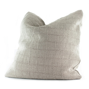 Basic Square Pattern Linen Cushion-Square Pattern(린넨쿠션-사각 패턴)